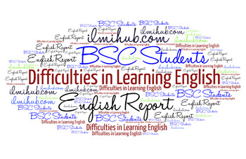 Report on Difficulties in Learning English, English report writing