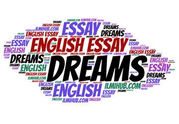 Essay on Dreams, Dreams essay, Types and Causes of Dreams
