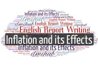 report on Inflation and its Effects, English Report writing Example on Inflation and its Effects, Report Writing Pattern on Inflation and its Effects