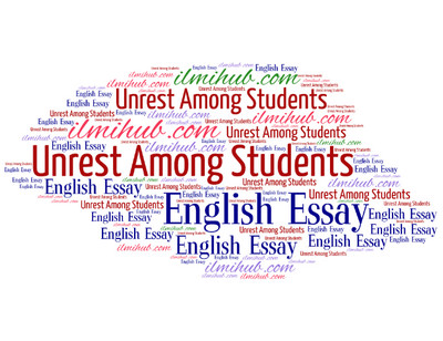 Essay on unrest among students