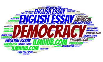 democracy, Essay on democracy, democracy essay