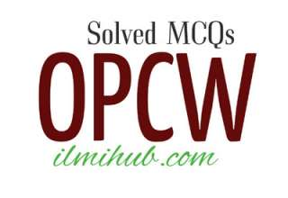 mcqs on opcw, multiple choice questions about opcw, opcw gk