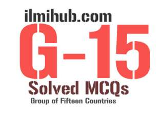 MCQs on G15, G15 MCQs, G15 Quiz, Multiple Choice Questions on G15, Objective type questions about G15