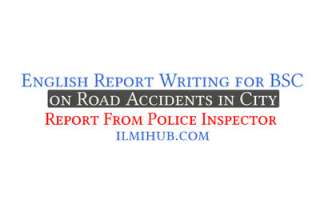 report on Traffic Accidents