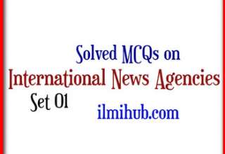 MCQs on International News Agencies