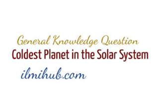 which is the coldest planet of solar system, coldest planet in the universe, which is the coldest planet in the universe