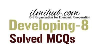 mcqs on d-8, D8 GK, D-8 MCQs