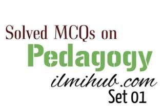 Pedagogy MCQs
