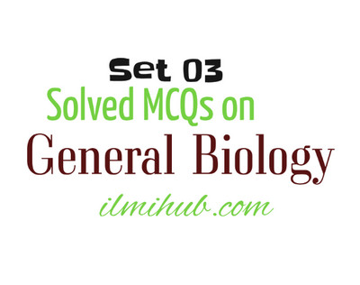 Important Biology MCQs with Answers for NTS Test Online Preparation