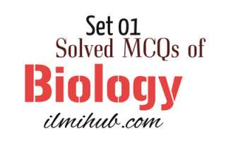 Multiple Choice Questions of Biology with Answers, MCQs of Biology, Biology solved quiz