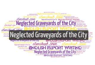 report on neglected graveyards, report writing example, English Report for BSC