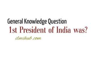 who was the first president of India