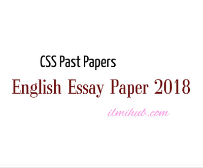 Essay Of Health  Thesis Persuasive Essay also English Essays Topics Css English Essay Paper  Pdf   Css Compulsory Subject Paper Example Of Proposal Essay