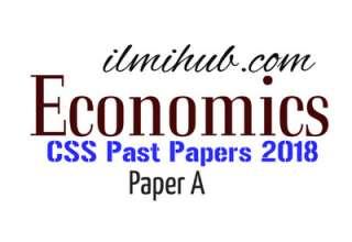 CSS Economics Paper 2018