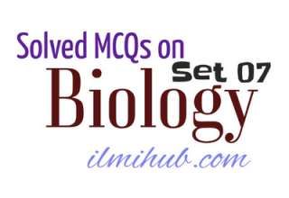 Solved MCQs about Biology, Biology Solved Quiz, MDCAT entry test online preparation