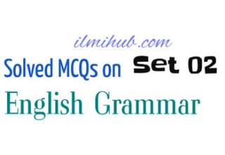 English Grammar Questions and Answers