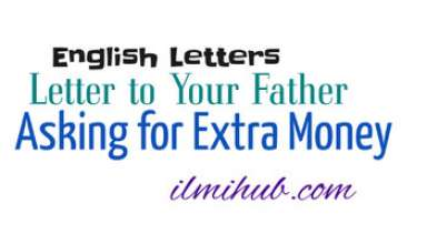 Letter to Your Father Asking him to Send Money to Buy Warm Clothes and Books