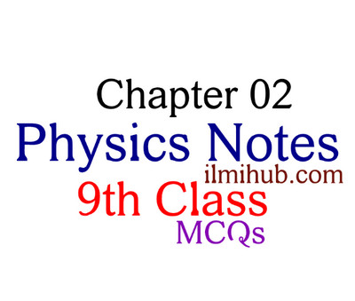 Kinematics: Physics Chapter 2 MCQs for Class 9 - Ilmi Hub