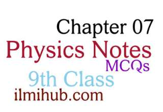 9th Class Physics Chapter 7 MCQs, MCQs of Chapter 7 Class 9, MCQs of Properties of Matter 9th Class