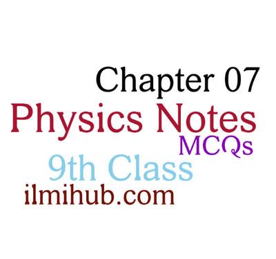 Properties of Matter: 9th Class Physics Chapter 7 MCQs - Ilmi Hub