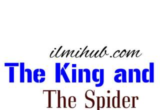 Story of king, King and The Spider Moral Story, short story of king