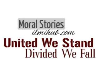 United we Stand divided we fall story, United we stand devided we fall moral story, storytelling united we stand devided we fall
