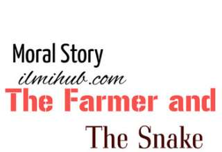 The Farmer and the Snake Story