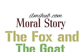 fox and goat story, fox and the goat, the fox and the goat