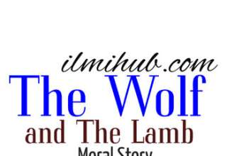 The Wolf and The Lamb Story, The wolf and the Lamb Story in English, The Wolf and The Lamb Moral Story
