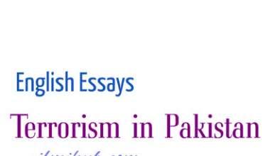 Essay on Terrorism in Pakistan, Terrorism in Pakistan Essay with Quotes, Essay on Terrorism