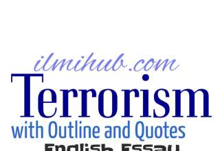 Essay on Terrorism, Terrorism Essay, Essay on Terrorism with Outline