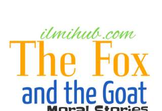 The Fox and the Goat Story, The cunning fox and the Stupid Goat Story, Fox and the Goat Story in English Written