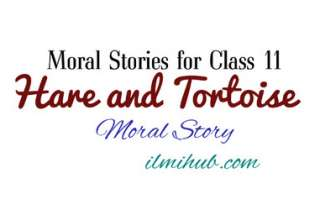 The Hare and The Tortoise Story, The Hare and Tortoise Story for Class 11, Hare and Tortoise Story for 1st year
