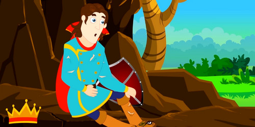 King Robert Bruce and the Spider Story with Moral, King and the Spider Story in English, King Bruce and the Spider Short Story with Moral