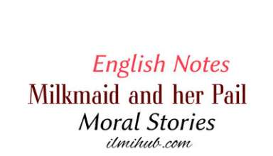 milkmaid and her pail moral story, story of the milkmaid and her pail, Milk Maid and Her Pail Story in English
