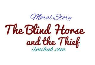 Horse Story, Blind Horse Story, Blind Horse and the Thief Story