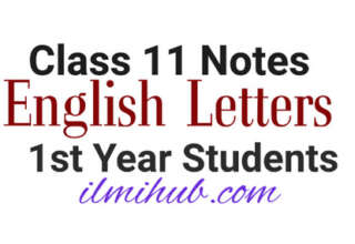 Letters for 1st Year English, English Letters for Class 11, English Letter Writing Samples for 1st year