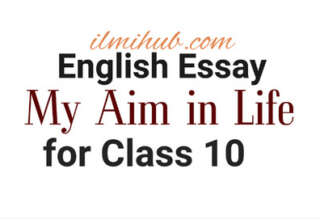 essay on my aim in life, essay on my ambition in life, my aim in life essay for class 10
